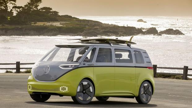 ID Buzz, projeto de van elétrica a ser lançada em 2022 pela Volkswagen (Foto: Divulgação/Volkswagen)