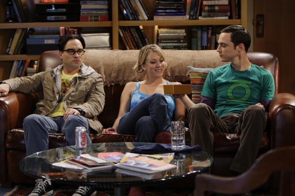 Os três protagonistas de The Big Bang Theory (Foto: Reprodução)