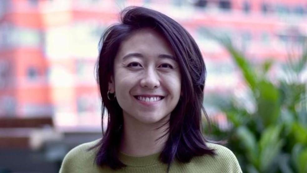 """A jovem cineasta Sharon Yeung quer fazer filmes """"sobre a experiência feminina""""  — Foto: Harriet Constable via BBC"""