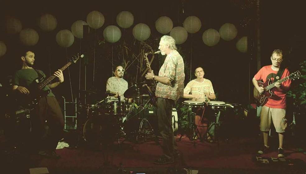 Néctar do Groove se apresenta após a ceia de Natal (Foto: Agustina Áran/Divulgação)
