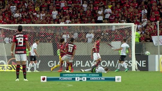 Comentaristas cornetam técnico do Flamengo pelas substituições contra o América-MG