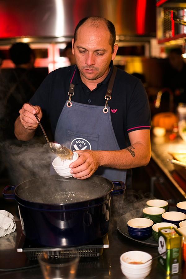 O chef Saulo Jennings (Foto: Divulgação)