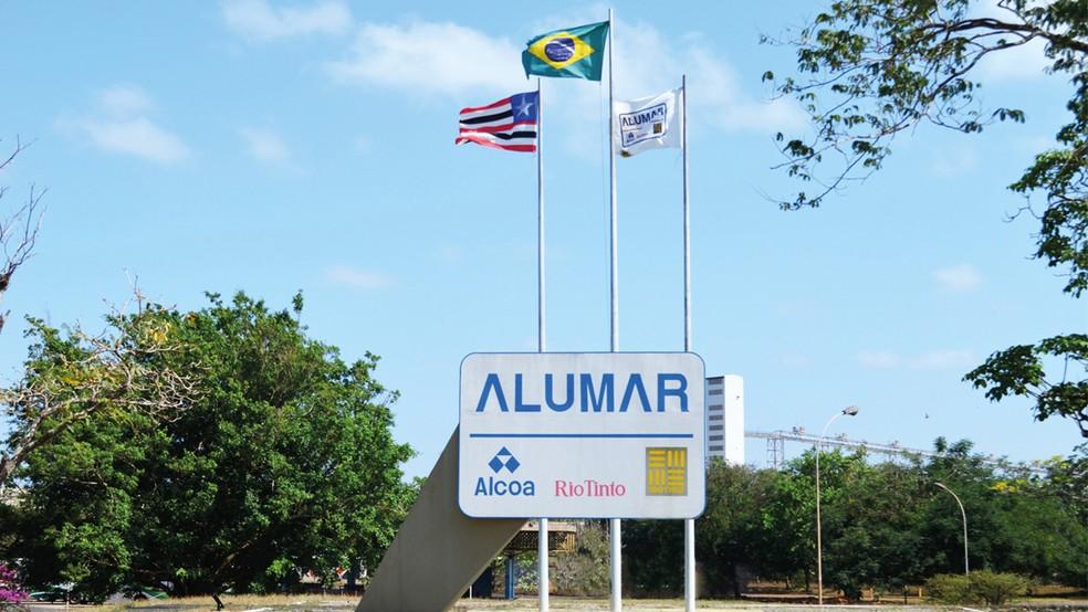 A Alumar tem a  5ª maior refinaria de alumina do mundo. — Foto: Acervo Alumar