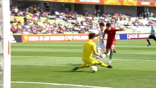 Portugal confirma o favoritismo e vence a Coreia do Sul na primeira rodada do Mundial Sub-20