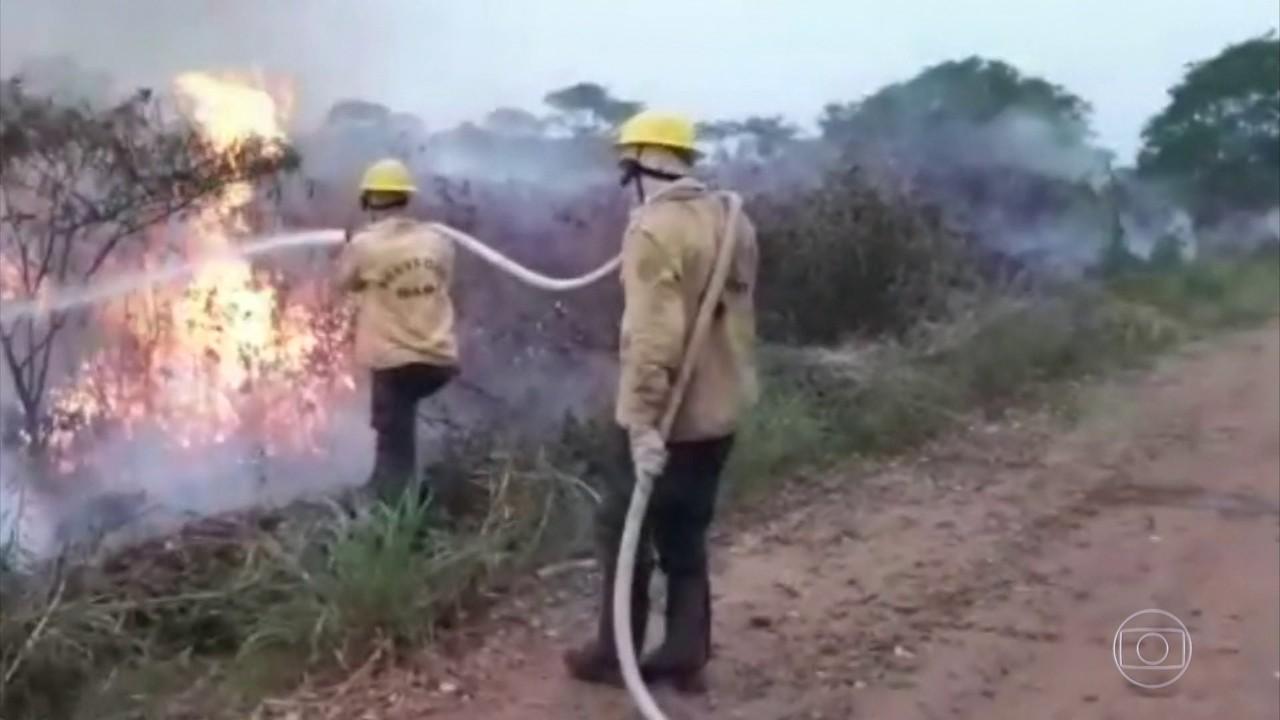 Governo anuncia R$ 3,8 milhões para custear ações de combate aos incêndios em MS