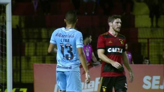 Sport x Grêmio - Campeonato Brasileiro 2018 - globoesporte.com
