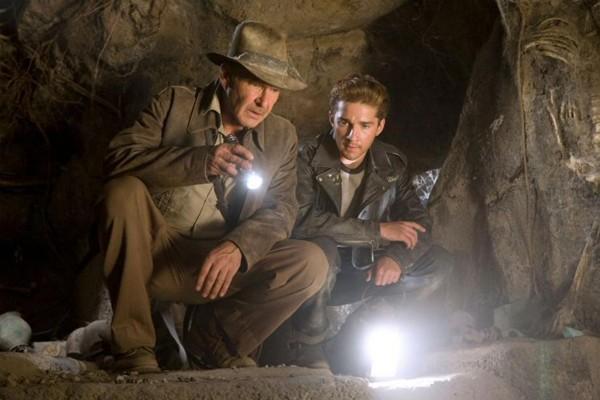 Cena de Indiana Jones e o Reino da Caveira de Cristal (2008) (Foto: Divulgação)