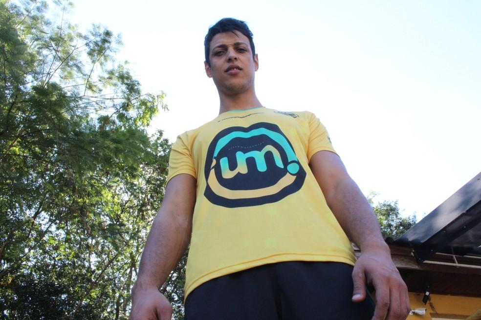 Michael é uma das esperanças do Itapetininga na Superliga B (Foto: Carlos Dias )