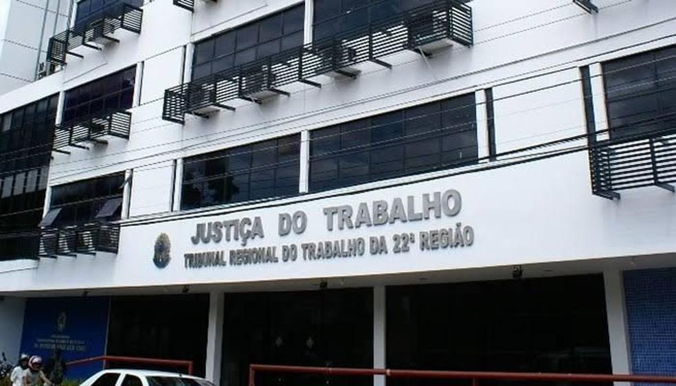 Prédio do Tribunal Regional do Trabalho — Foto: Divulgação