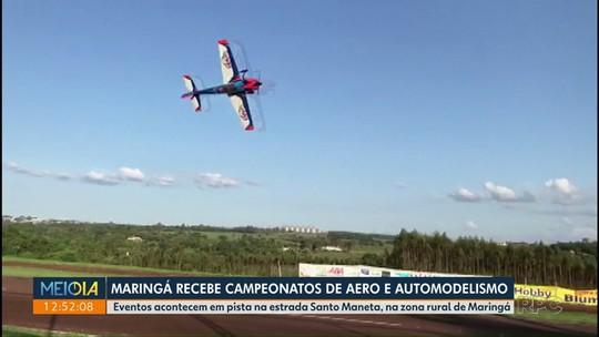 Maringá recebe campeonatos de aero e automodelismo