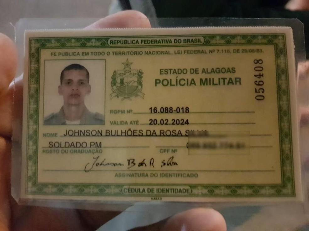 Policial Militar Johnson Bulhões foi morto após reagir assalto em Porto de Galinhas — Foto: BPRv