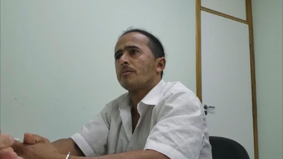 Marinésio dos Santos Olinto responde a, pelo menos, cinco processos na Justiça do DF sobre abusos sexuais e feminicídios — Foto: TV Globo/Reprodução