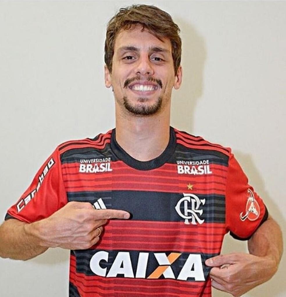 Rodrigo Caio saiu do São Paulo e foi para o Flamengo — Foto: Reprodução/Instagram