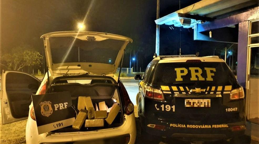 Caso ocorreu em Ribeira do Pombal, na região nordeste da Bahia.  — Foto: Polícia Rodoviária Federal (PRF) / Divulgação