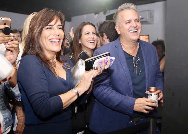 Gloria Pires, Ana e Orlando Morais (Foto: Manuela Scarpa/Brazil News)