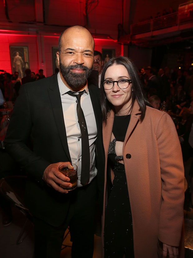 Jeffrey Wright e Shannon Woodward (Foto: Getty Images)