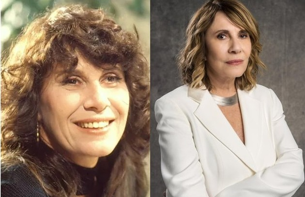 Renata Sorrah viveu Carolina, mulher de Renato. Ela está no ar na série 'Filhas de Eva', do Globoplay (Foto: Reprodução)