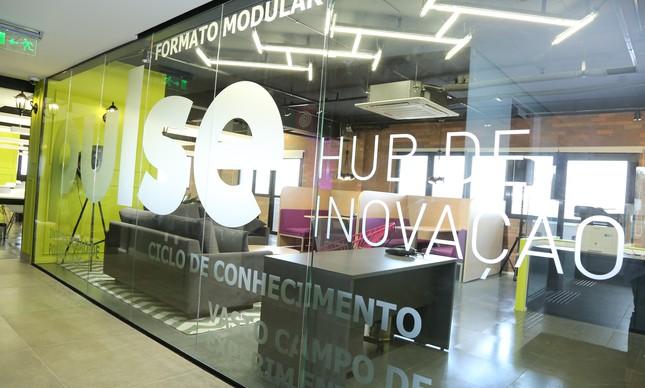 Hub de inovação Pulse, da Raízen