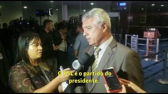 Líder do PSL no Senado diz estar surpreso com fala de Bolsonaro contra o partido