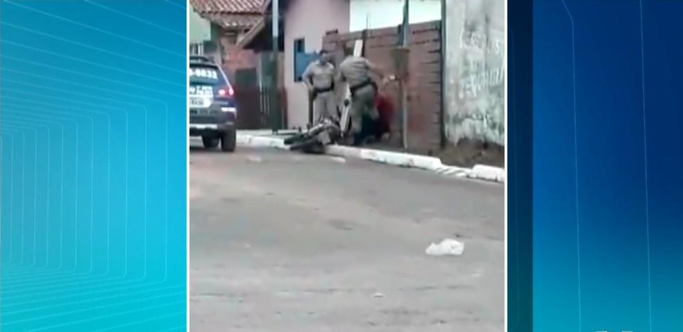Polícia Civil encaminhou o vídeo para o Ministério Público (Foto: Reprodução/TV Anhanguera)