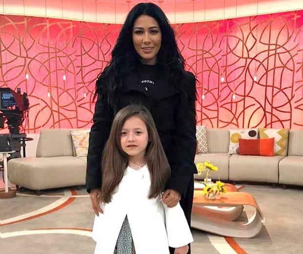 Simaria e a filha, Giovana (Foto: Reprodução Instagram)