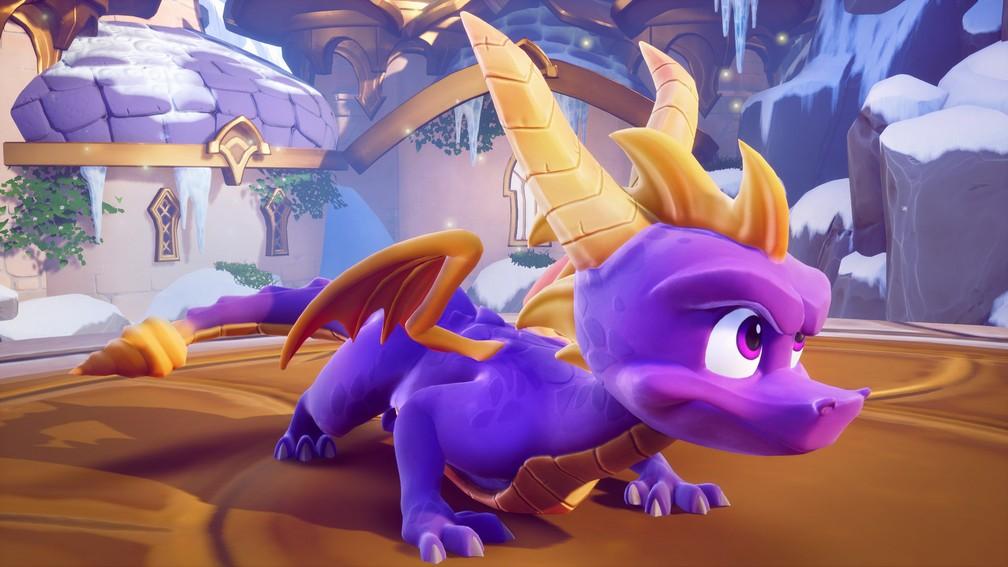 Activision confirma trilogia remasterizada de Spyro para PS4 e Xbox One