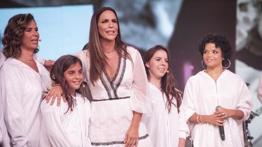 Filho de Ivete Sangalo, Marcelo, vira assunto na internet após se apresentar no 'Tamanho Família'