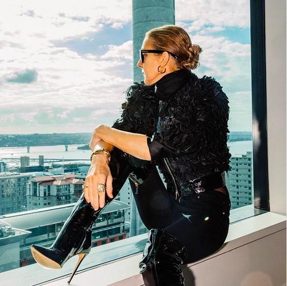 A cantora Celine Dion (Foto: Instagram)