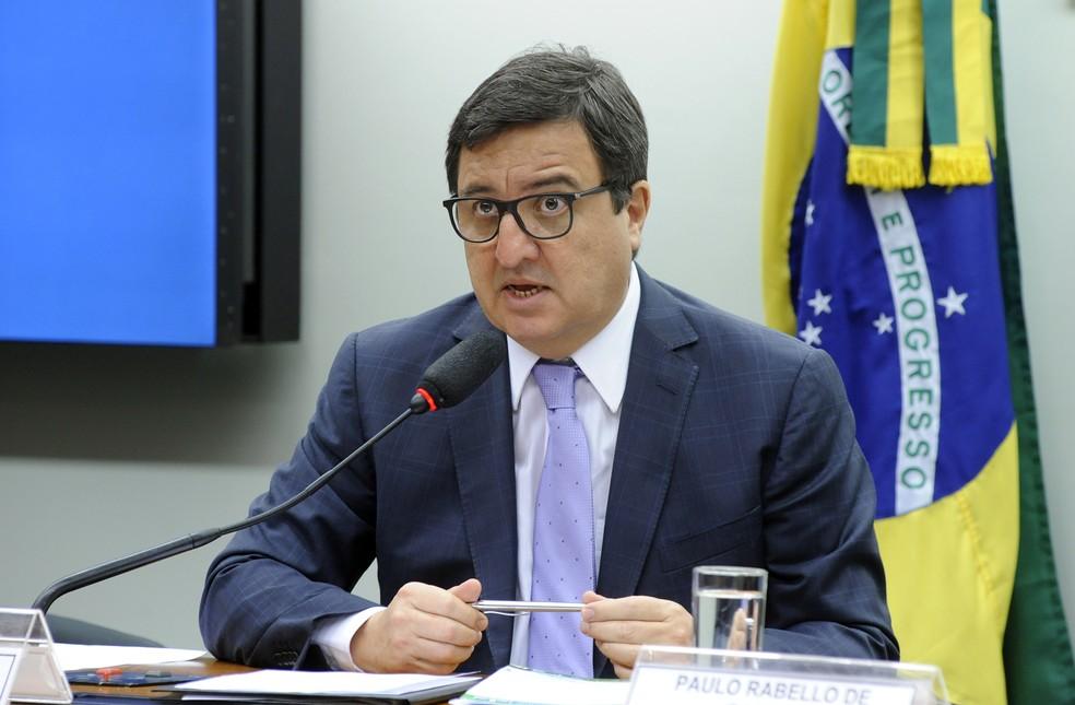 Danilo Forte (PSDB-CE), durante audiência na Câmara: deputado foi convidado para o governo Bolsonaro — Foto: Luís Macedo/Câmara dos Deputados