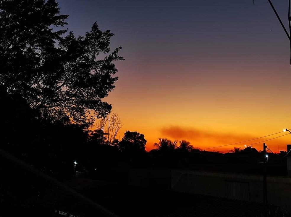 Tempo no Acre deve ficar ensolarado, mas noites continuam frias  — Foto: Geisy Negreiros/Arquivo pessoal