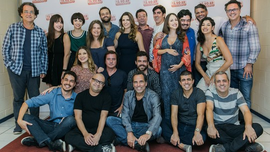 Elenco, direção e autores lançam quarta temporada de 'Tá no Ar: a TV na TV'