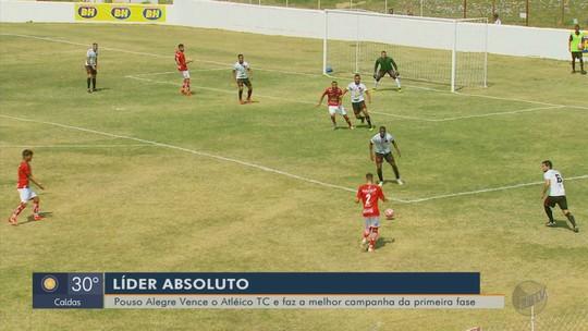 Pouso Alegre vence o Atlético TC fora de casa e fica com a melhor campanha geral na Segundona