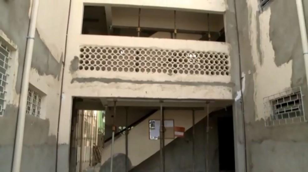 Centenas de imóveis ficaram comprometidos pelas rachaduras que têm surgido no Pinheiro, em Maceió, desde o início de 2018 — Foto: Reprodução/TV Gazeta