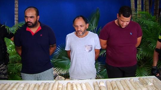 Polícia prende trio suspeito de elo com explosão de três agências bancárias e uma dos Correios em Ipameri