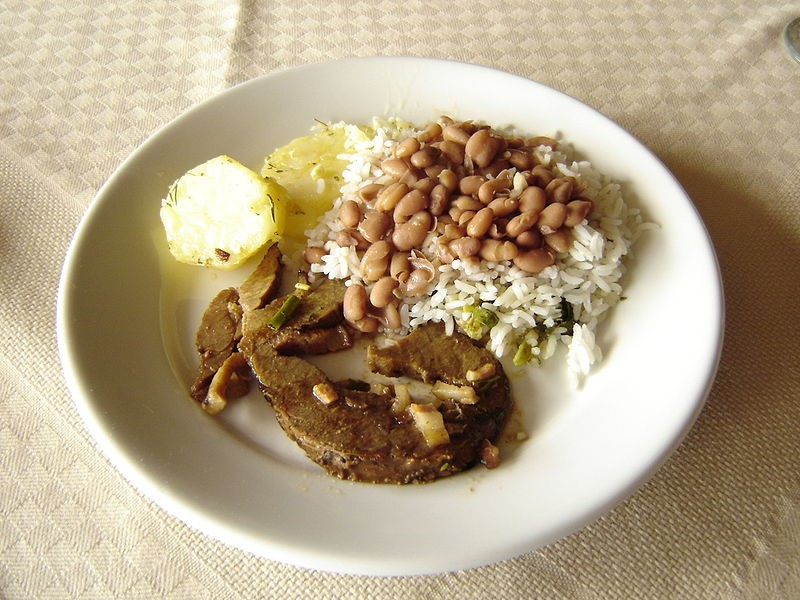 Prato comum na mesa de milhões de brasileiros (Foto: Wikimedia Commons)