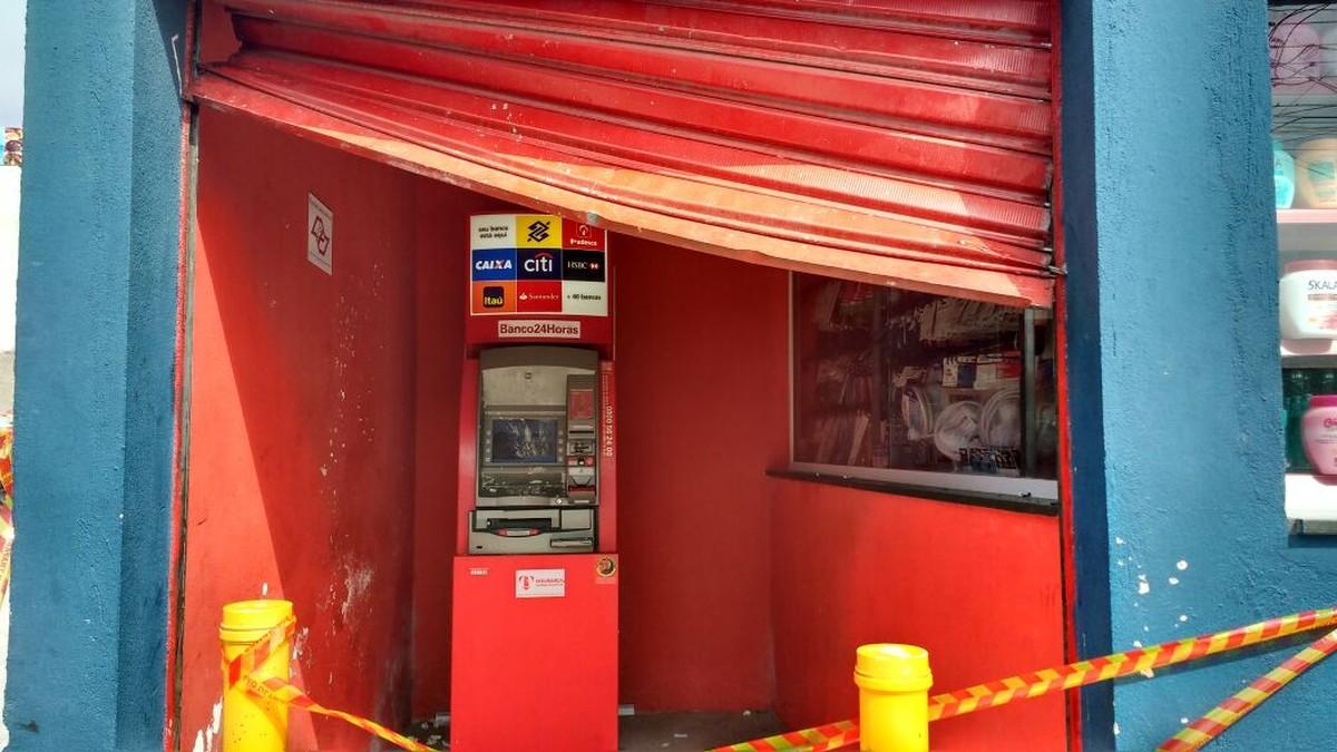 GATE recolhe explosivo em agência bancária de Itaquaquecetuba após tentativa de furto