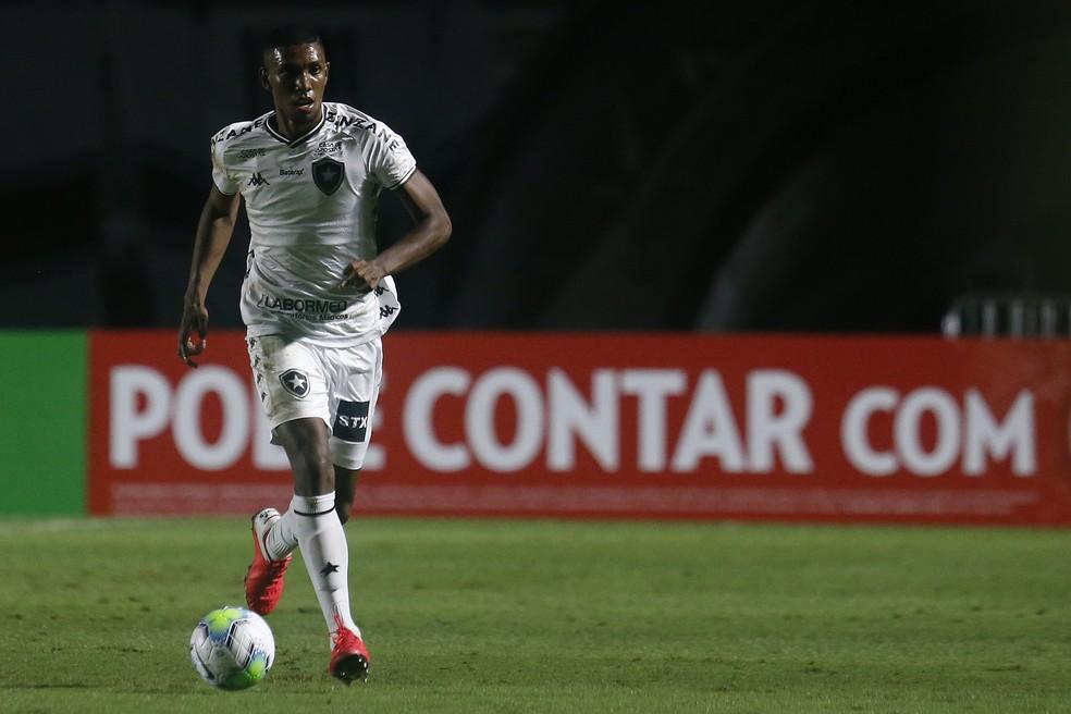 Kanu, zagueiro do Botafogo — Foto: Vitor Silva/Botafogo