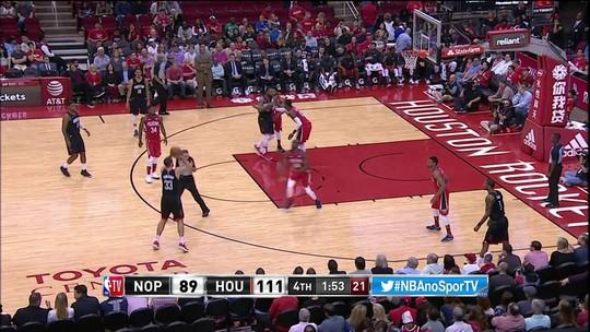 Melhores momentos de New Orleans Pelicans 89 x 114 Houston Rockets