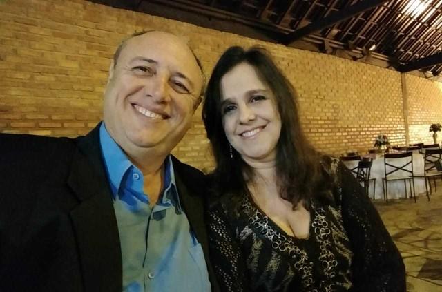 Pedro e sua namorada, Eliane (Foto: Arquivo pessoal)