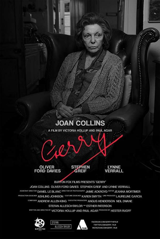 Joan Collins em pôster de curta (Foto: Reprodução)
