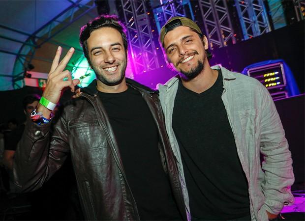 Felipe Ramalho e Bruno Gissoni (Foto: Fernando Torres/ Divulgação)