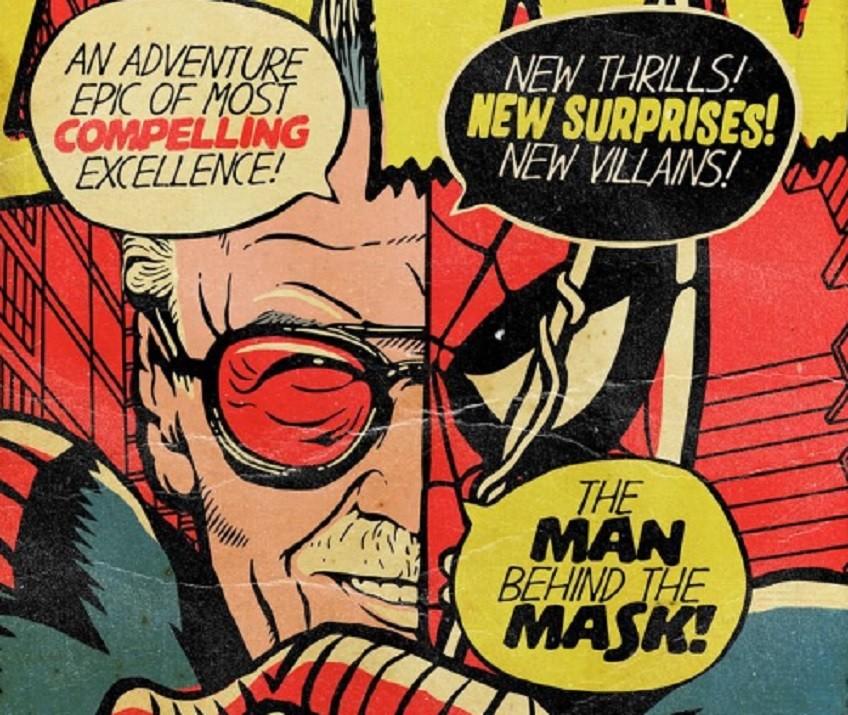Stan Lee como o Homem-Aranha (Foto: Reprodução/Twitter)