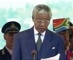 Nelson Mandela | Reprodução de TV
