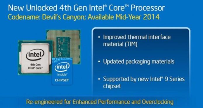 Novo chip Devil's Canyon teve lançamento adiado até setembro (foto: Reprodução/Intel) (Foto: Novo chip Devil's Canyon teve lançamento adiado até setembro (foto: Reprodução/Intel))