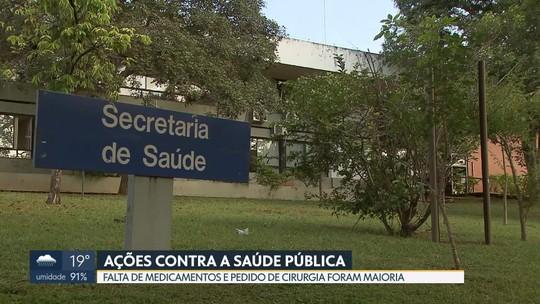 Justiça recebe 8 novos processos por dia de pacientes em busca de leito e medicamento no DF