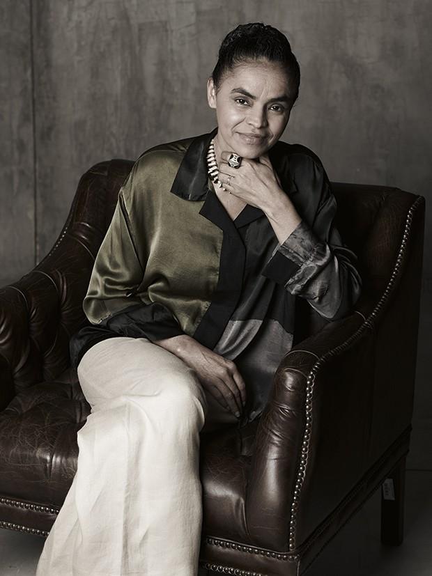 Marina Silva (Foto: Bob Wolfenson)