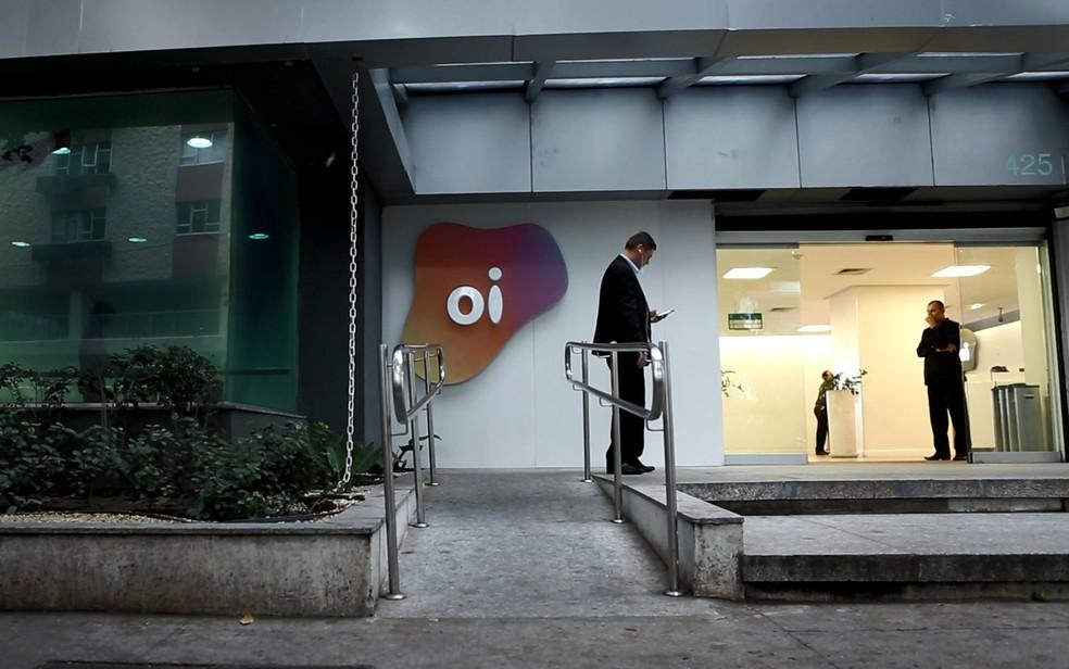 Sede administrativa da Oi funciona no Leblon, Zona Sul do Rio; empresa está em recuperação judicial (Foto: Marcos Serra Lima/G1)
