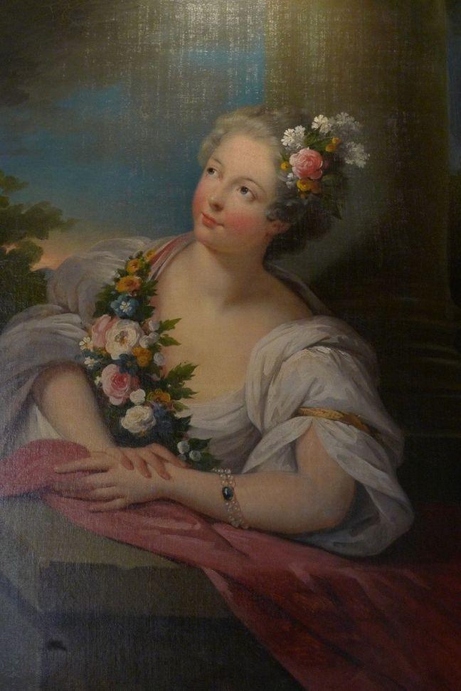 Retrato, pastel sobre tela, de Marie Victory of Noailles por volta de 1710 (Foto: Musée Condé)