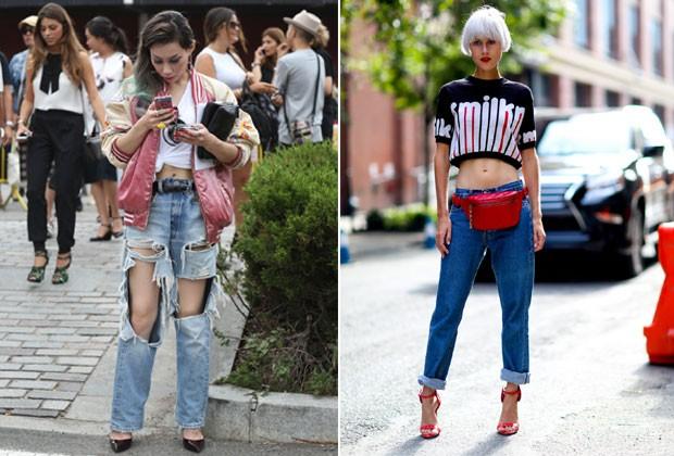 Não importa o modelo, um bom jeans é fundamental (Foto: Imaxtree)