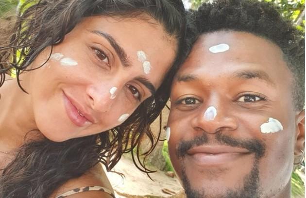 David Junior e Yasmin Garcez comemoram férias na Bahia (Foto: Arquivo pessoal)